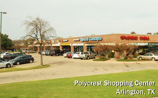 Polycrest Shopping Center - Arlington TX